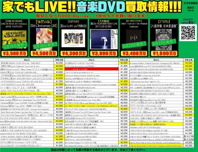 音楽DVD②