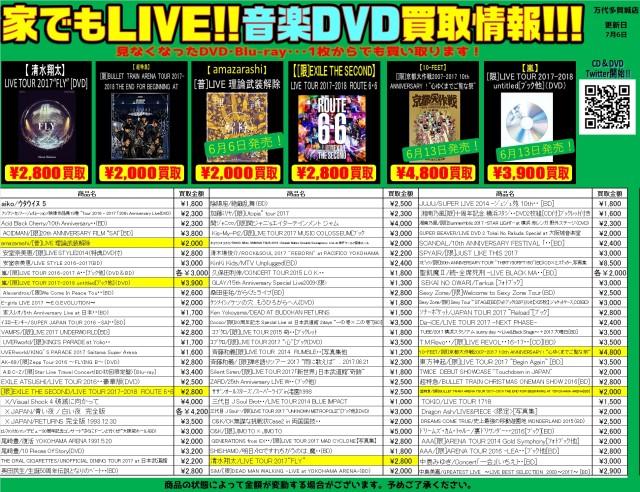 音楽DVD①